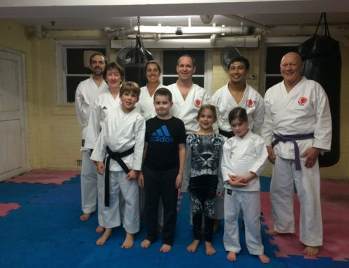 Kids night at the Dojo