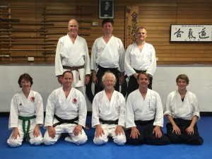 Our visit to the Aikido Dojo in October 2015